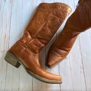 Ariat Sahara Maple brown tall boot